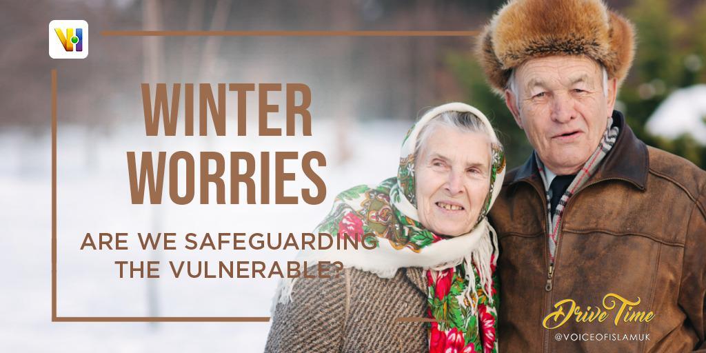 Winter Worries vulnerable people